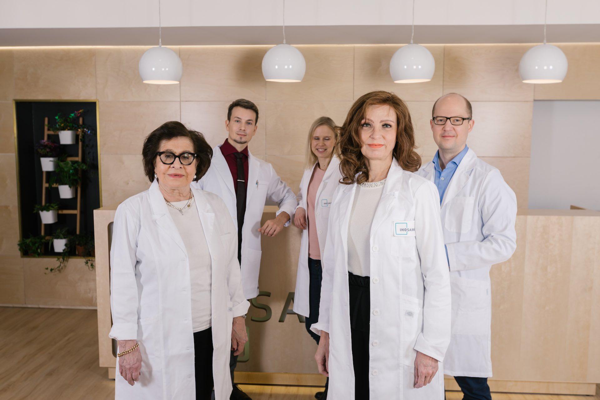 Ihosairaala lääkärit