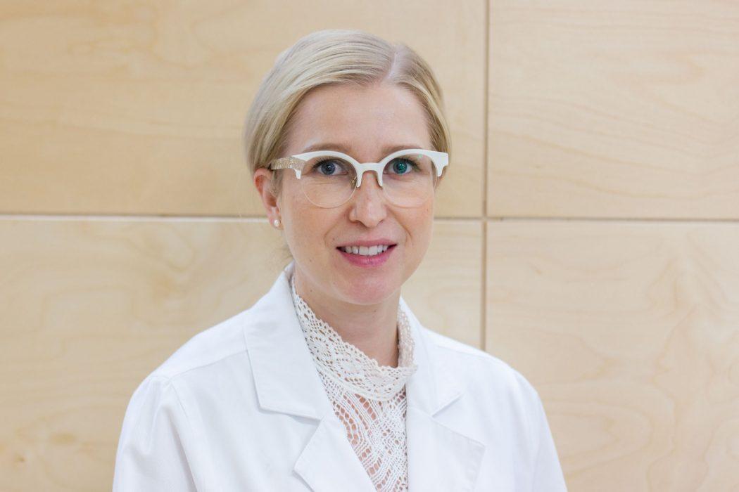 Ihotautilääkäri Minna Kubin